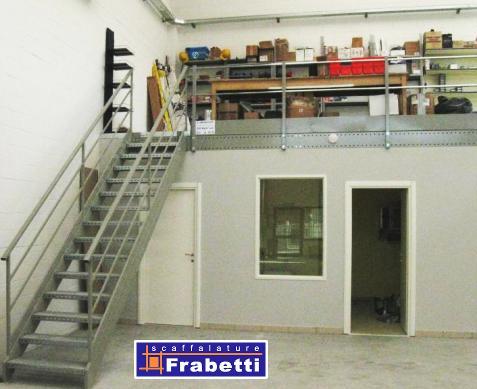 Ufficio In Cartongesso : Frabetti scaffalature soppalco metallico con pareti in cartongesso